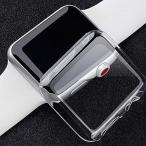 Anke's apple watch series 4バンド44/40mm Apple watch series 4全面保護カバー TPU 耐衝撃性