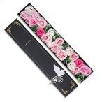 ソープフラワー ロングボックス 花束 枯れない花 誕生日 結婚記念日 造花 石鹸花 シャボンフラワー バラ ブリザードフラワー プレゼント