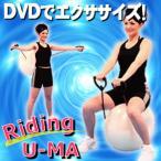 『ライディングウーマDVD付』付属のDVDを見ながら楽しくエクササイズ♪自宅で楽々エクササイズを楽しもう!