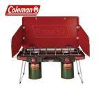 コールマン ( Coleman ) パワーハウス LP ツーバーナーストーブ2 ( レッド ) キャンプ バーナー