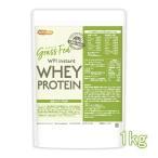 GRASS FED WPI instant ホエイプロテイン 1kg GMO Free グラスフェッド  [02] NICHIGA(ニチガ) 牛成長ホルモン不使用