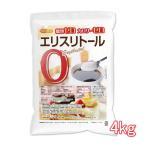 エリスリトール(erythritol) 4kg カロリーゼロ 希少糖 糖質制限 天然甘味料 [02] NICHIGA(ニチガ)