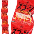 コイケヤ スコーン がっつきバーベキュー 4P(10個入)  スナック 定番 ロングセラー お菓子 箱買い