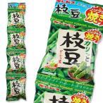 ギンビス カリッと枝豆 ノンフライ焼き 4P (12個入) 駄菓子 ノンフライ スナック お菓子 まとめ買い