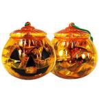 アメハマ ハロウィンかぼちゃポットキャンディ (1個売り)ハロウィン お菓子 飴 大袋 詰め合わせ 大量