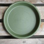 鉢皿グロウプレート18型 グリーン 緑 グロウコンテナ用 約6号鉢用 受け皿 鉢皿 丸鉢用 プレート皿 受皿 鉢 プランター ガーデニング雑貨