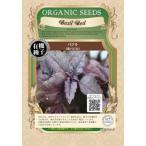 有機種子 固定種 赤バジル 種 バジル ハーブ 種子