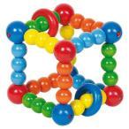 がらがら 赤ちゃん 木のおもちゃ 0歳 1歳 誕生日プレゼント ラトル キューブ