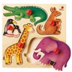 パズル 子供 幼児 知育玩具 木のおもちゃ 1歳 2歳 3歳