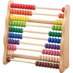 知育玩具 3歳 4歳 5歳 木のおもちゃ 誕生日プレゼント レインボーアバカス