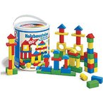 積み木 木のおもちゃ 1歳 2歳 3歳 子供 誕生日プレゼント 赤ちゃん HEROS 筒入積木 100ピース