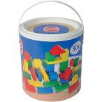 積み木 木のおもちゃ 1歳 2歳 3歳 子供 誕生日プレゼント 赤ちゃん HEROS 筒入積木 50ピース