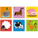 知育玩具 2歳 3歳 4歳 子供 誕生日プレゼント 木のおもちゃ ファームアニマル ブロックパズル