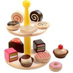 ままごと キッチン 誕生日プレゼント ペイストリーズ 木のおもちゃ 木製 子供 女の子 3歳 4歳 5歳
