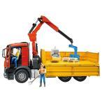 MB Arocs クレーン作業トラック 車のおもちゃ ダンプ
