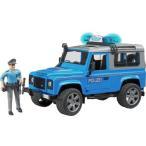 Land Rover Def. パトカー(フィギア付) 車のおもちゃ 砂場