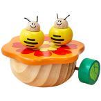 アイムトイ ダンシング・オルゴール みつばち 知育玩具 1歳 2歳 3歳 誕生日プレゼント 木のおもちゃ