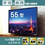 テレビ保護パネル 55インチ 55型  55VS 国産 液晶カバー 有機ELテレビ 液晶保護フィルム レクアガード