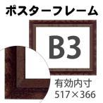 額縁eカスタムセット標準仕様 12-6070 作品厚約1mm〜約3mm、シンプルな銀色のポスターフレーム (B3) ポイント10%還元