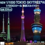 リニューアル版 『 1/1000 TOKYO SKYTREE-N 』 NEW 1/1000スケール 東京スカイツリー