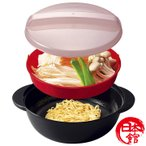日本製 電子レンジ ラーメン うどん そば チンしておいしい麺まつり