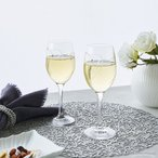 ウェッジウッド クリスタル プロミシス トゥーハーツ ワイングラス ペア