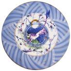 マイセン 月夜の山猫 円形磁板 ザビーネ・ワックス作 / 購入時在庫確認必要