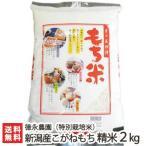 令和元年度米 新潟産 特別栽培米 こがねもち 精米2kg 徳永農園 もち米/父の日にも/のし無料/送料無料