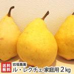 【送料無料】家庭用 訳ありル・レクチェ2kg(4〜7個) 岩福農園(新潟)幻の洋梨ルレクチェ