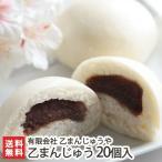 新潟名寺の名物茶屋が作る「乙(きのと)まんじゅう」20個入り(冷凍)/のし無料/送料無料