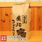 令和2年度米 南魚沼 塩沢産コシヒカリ 玄米10kg うおぬま倉友農園/のし無料/送料無料