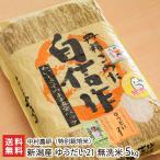 令和元年度米 新潟産 ゆうだい21(特別栽培米)無洗米5kg 中村農研/のし無料/送料無料