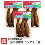 新潟産 川魚の甘露煮 ニジマス 3袋(3尾入り×3)魚沼 高野養魚場/のし無料/送料無料