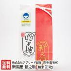 新潟産 新之助(特別栽培米)精米2kg 株式会社アグリード越後/のし無料/送料無料