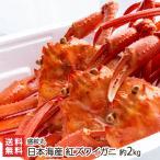 日本海産 紅ズワイガニ 約2kg 盛紋丸/送料無料
