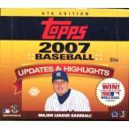 ■セール■MLB 2007 TOPPS UPDATES & HIGHLIGHTS HTA-JUMBO版