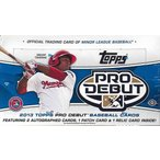 ■セール■2013 TOPPS PRO DEBUT BASEBALL BOX(送料無料)