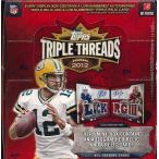 NFL 2012 TOPPS TRIPLE THREADS FOOTBALL NFL公式アメリカンフットボールカードBOX (送料無料)