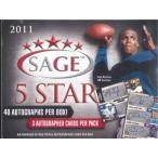 ■セール■2011 SAGE 5 STAR ROOKIES FOOTBALL (送料無料)