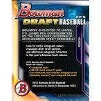 MLB 2016 BOWMAN DRAFT BASEBALL SUPER JUMBO BOX (送料無料)