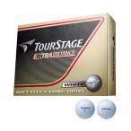 2014 ツアーステージ EXTRA DISTANCEボール ホワイト 1ダース TEWX 【 ゴルフボール (1ダース以上)   ブリヂストン 】