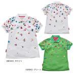 【レディス】【お買い得品】2020春夏 ルコック サンスクリーンフェスプリント半袖シャツ QGWPJA12 【 半袖シャツ(ゴルフウェア) | ルコック 】