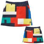 【レディス】【お買い得品】2020春夏 ルコック 渋谷アートプリントスカート QGWPJE01 【 パンツ・スカート(ゴルフウェア) | ルコック 】
