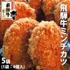 肉 牛肉 和牛 メガ盛り 5袋 まとめ買い ひぐちの飛騨牛ミンチカツ 冷凍食品 簡便商品