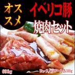 ギフト 肉 イベリコ豚 焼肉セット ロース+かたロース各300g 計600g 化粧箱入 ブラン...