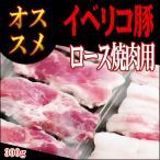 豚肉 バーベキュー BBQ イベリコ豚 焼肉用 ロース 300g ブランド豚 スペイン産
