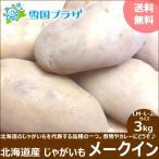 【2020年出荷/予約】新じゃが じゃがいも 北海道産 メークイン 3kg ジャガイモ 馬鈴薯 北海道 応援 支援 食品 グルメ 野菜 お取り寄せ