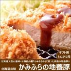 かみふらの地養豚 ロース とんかつ・ソテー用 豚肉 北海道産 ギフト 贈り物 北海道 物産展 応援 支援 食品 グルメ お取り寄せ