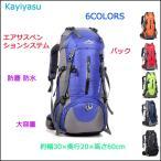 バック ザック リュック 登山 リュックサック バックパック 鞄 デイパック 大容量 防水 アウトドア 遠足 登山用品