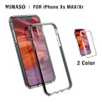 Nimaso iPhone Xs iPhone Xs Max iPhone XR 専用保護ケース【米軍MIL規格取得】ワイヤレス充電対応/全面保護/フィルムと干渉せず N2